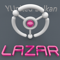 YUnited Balkan 3D logo #2 by LazoBaa