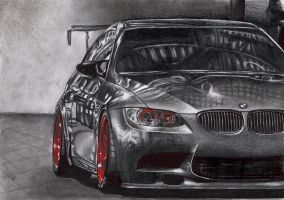 BMW M3 e92 by CoolGAlien