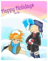 Happy Holidays No Da by goldfish078
