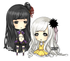 CM: Yulia and Yasmine by Glaciaru
