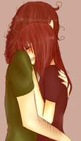 Hugs are nice. by TroudeChatte