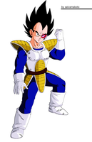 Vegeta saga saiyajin by salvamakoto