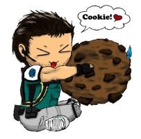 RE5-Chris' Cookie by Biohazard-kirby