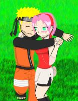 NaruSaku_Just you and I by chachi411