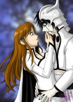 Bleach - UlquiHime - Your turn by Pan-Pan