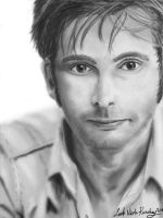 David Tennant Digital Painting by Lady-Mage