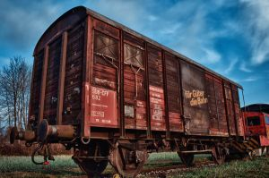 Old Trains Part I by daenuprobst