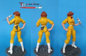 TMNT Classic April O'Neil (another shot) by zelu1984