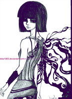 The girl with the dragon tattoo by kika1983