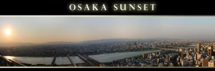 Osaka Sunset by AneiKhaar