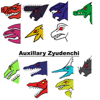 PR Dino Force Brave/Kyoryuger Brave Logos/Symbols by Waito-chan