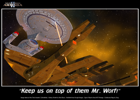 Keep us on top of them Mr Worf by DavidAkerson