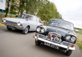 on the road ,humber sceptre,ford corsair by Sceptre63