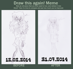 Draw this again-Meme: Emotionless by FlandreNee
