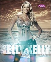 Kelly Kelly Artwork - WWE by roXx81
