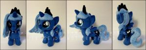 Plushie: Filly Luna (Woona) - MLP:FiM by Serenity-Sama