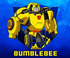 Bumblebee character sketch thingy  :D by Ahrrr