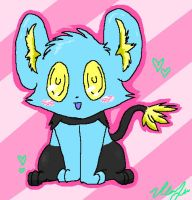 cute shinx by zipzap-the-raichu