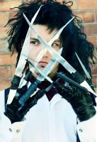 Edward Scissor-Hands.. by johnberd