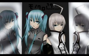 Vocaloid:Monochroact by linfang25