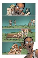 Last of the Greats #5 Page1 by Eddy-Swan-Colors