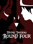 Round 4 - Cover Page - Divine Inferno by MidnightCootie