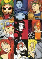 Sketch Cards: Directors Cut by KidNotorious