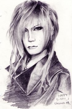 Happy B-day Uruha~ by KywrieXD