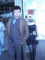 LFCC July 2013 - The Doctor and K-9 by LuciaDuvant