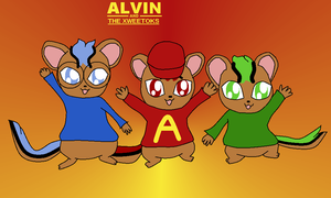 Neopets - Alvin and The Xweetoks by Bokeol