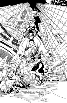 Linkz y Rabeck_inks by Hunka