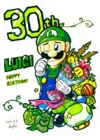 LUIGI 30th by Angle-007