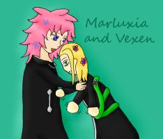 Marluxia and Vexen by Phoneix-Faerie