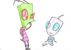 zim an gir by rebemci