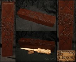 Sageve Box and Plate by Maylar