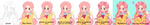 Fluttershy Colouring Process by Chocolate-Domino