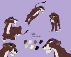 Theresa- new fursona by Pencil-and-paper-247