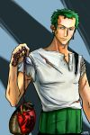 commission: Zoro by zelas