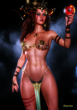 Magic Woman by Agr1on