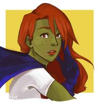 Miss Martian by blenderpower