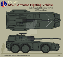 USCMC M578 AFV-SPH by Wolff60