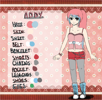 Original Character Ref - Addy by faintlaughter