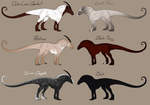 Pishal Adoptables 3 CLOSED by ReaWolf
