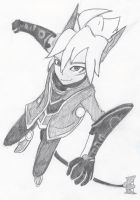 Machinist of the Sky- Rodea by MoonHunter02