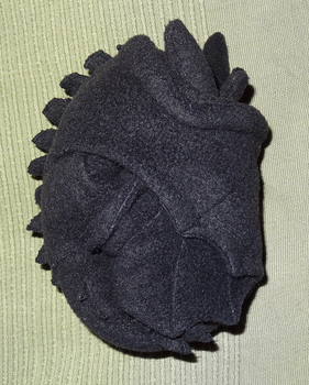 Toothless Plushie is foldable by ProjectToothless