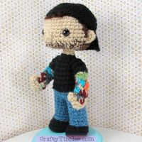 Custom Crochet - Gavin by CraftyTibbles