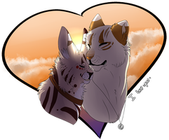 With or Without You -gift- +SPEEDPAINT by Spottedfire23