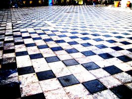 Checkerboard Pattern by LilaStrawberry