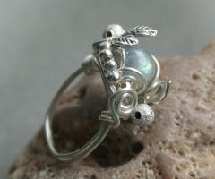 Dawn in Forest - ring by Bodza