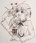 +Ciel eating Alois+ by BlackLenore